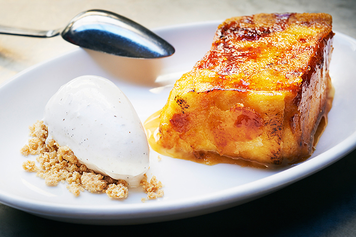 Traditional Eauropean Foods for Easter Spanish Torrija with ice cream