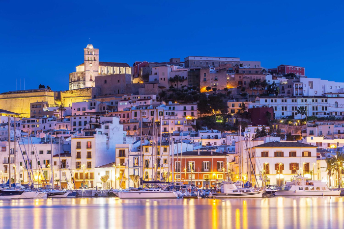 best bachelor party destinations ibiza spain in the evening