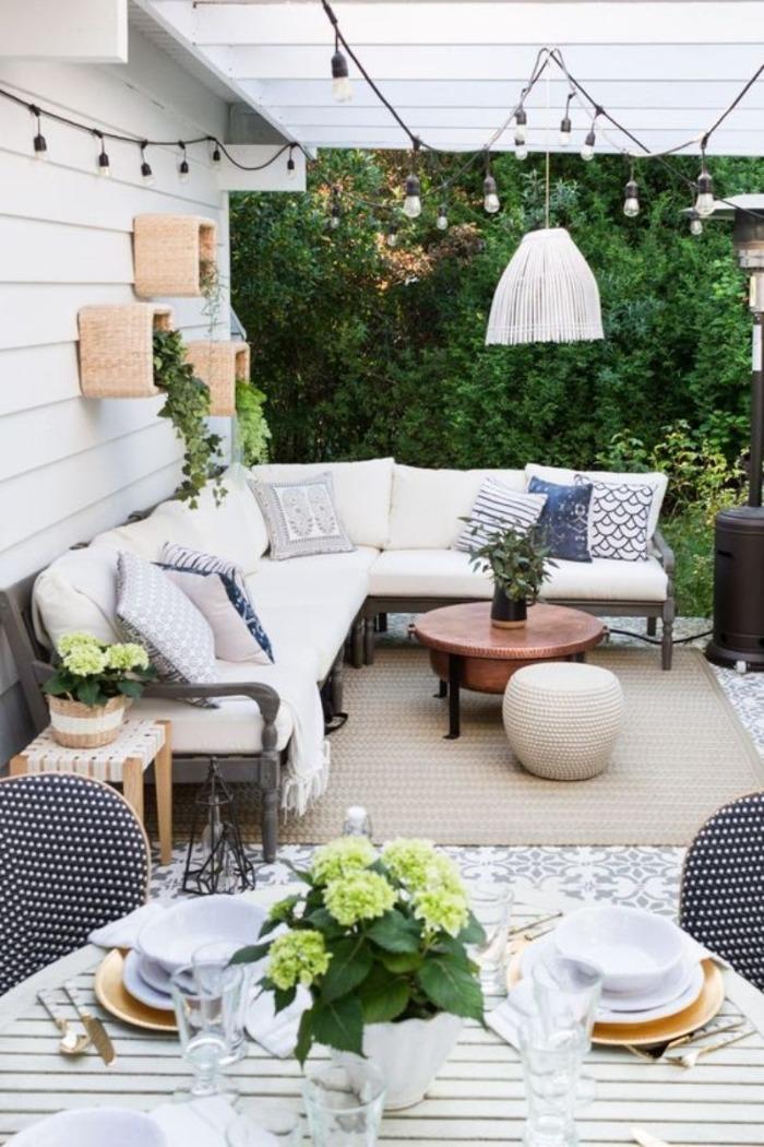 front porch garden decor cozy design with pillow carpet