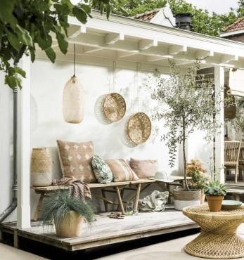 vintage light summer decors