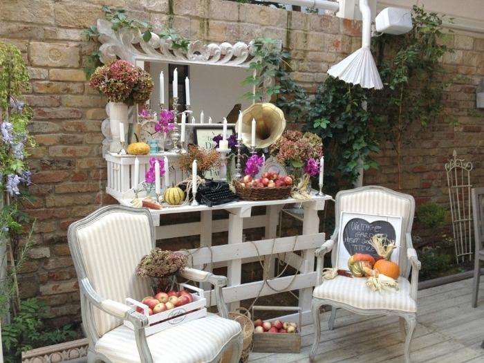 vintage garden decor summer ideas rustic retro old furniture