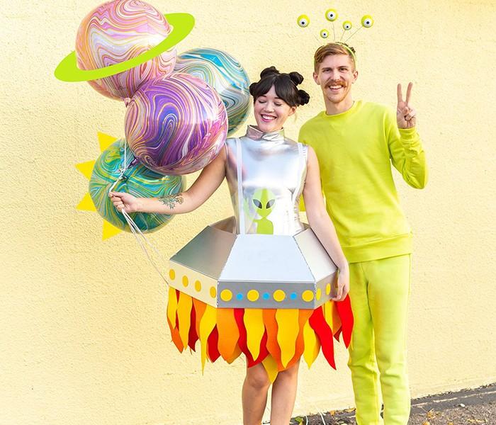 DIY-Halloween-costumes-ideas-Alien-of-the-Earth