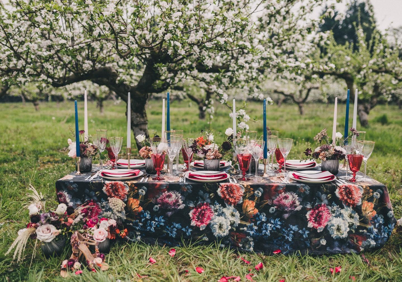 Wedding table inspiration autumn ideas