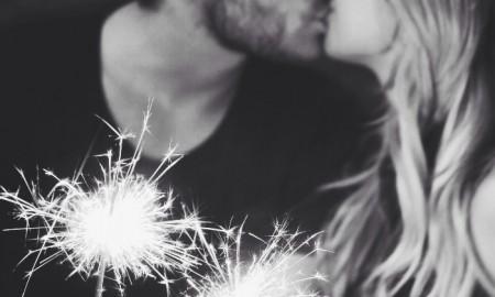 couple sparkles