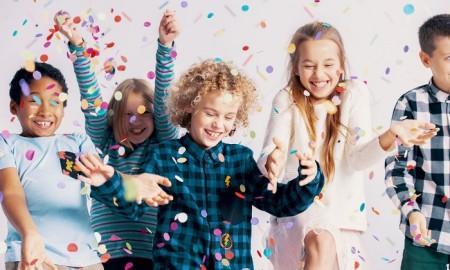 kids enjoying new years eve