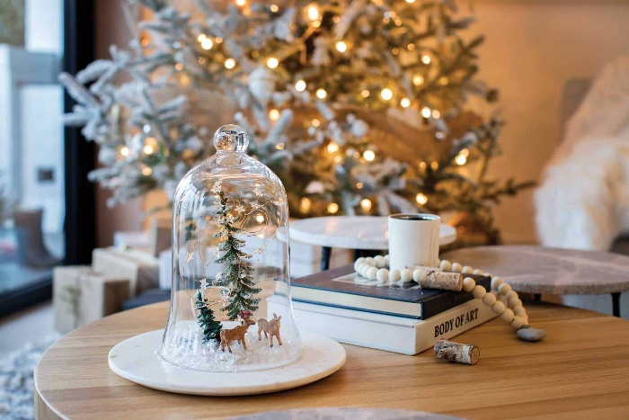 winter fairytale decor in white modern decorations white christmas tree