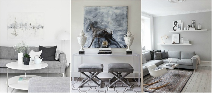 design by intuition grey and white home decor three examples