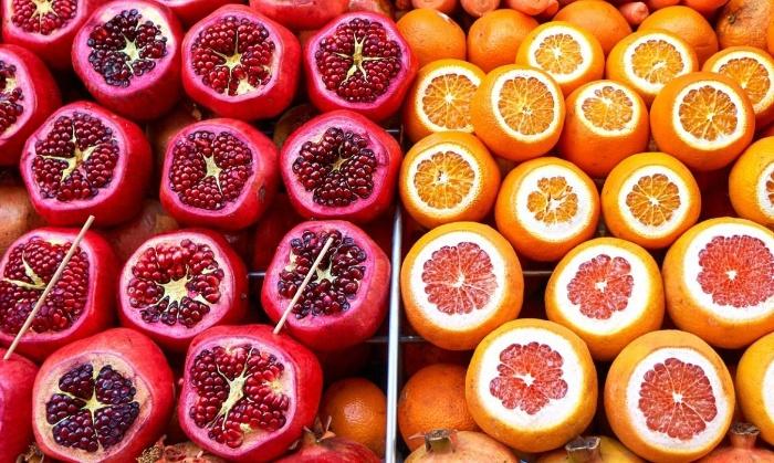 winter fruits