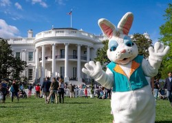 Famous White House Easter Egg roll