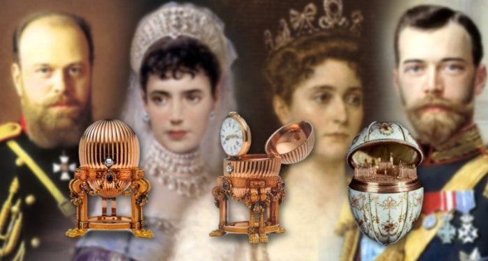 imperial eggs and the royal family members who owned them