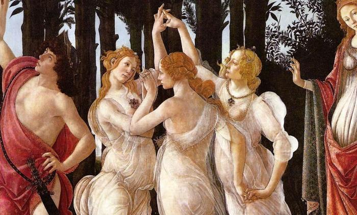 Italian renessaince woemn dancing standards of beauty in Italy