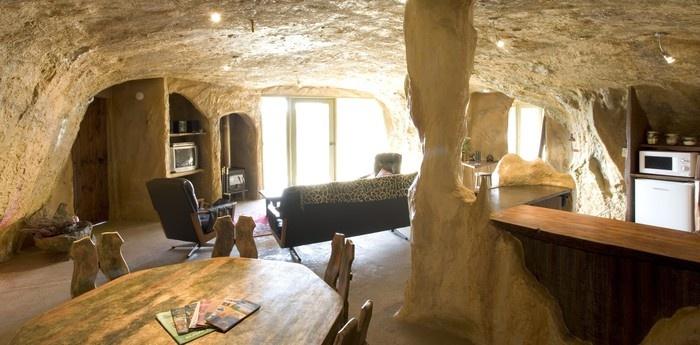 the mira mira hotel interior cave like