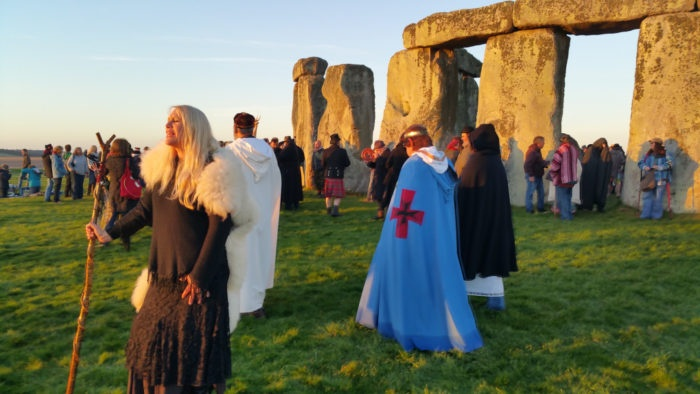 stonehendge spring festival welcoming of spring people dressed up as vikings