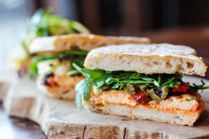 sandwitch close up picnic snack ideas small sandwitches