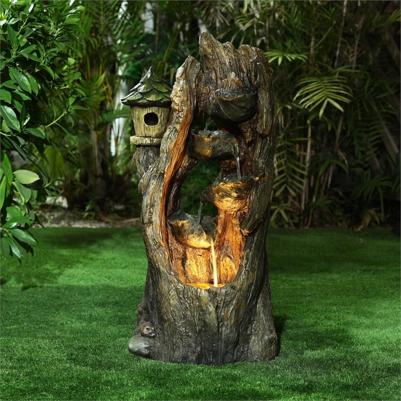 How to decorate stump