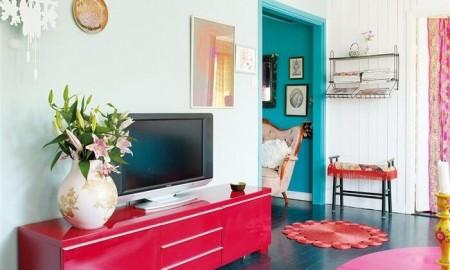 colorful interior