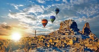 turkey hot air balloons